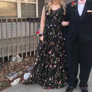 Custom prom dress!